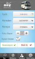 Screenshot of Seç Turizm
