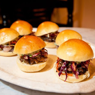 Pork Belly Sliders.