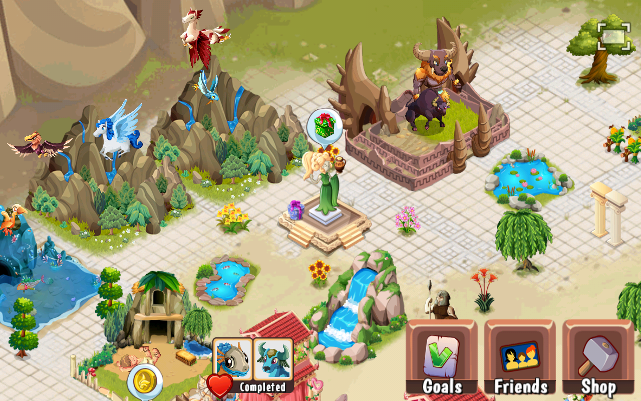 Creatures of Olympus - screenshot