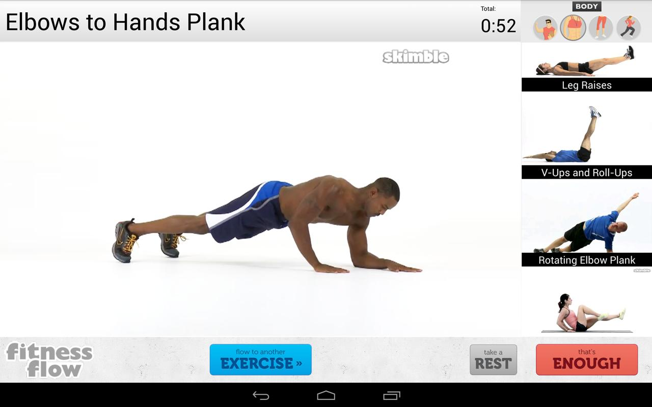 Fitness Flow- screenshot