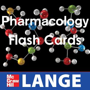 Pharmacology Lange Flash Cards