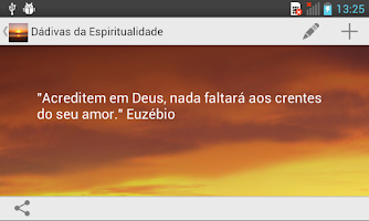 Screenshot of Dádivas da Espiritualidade