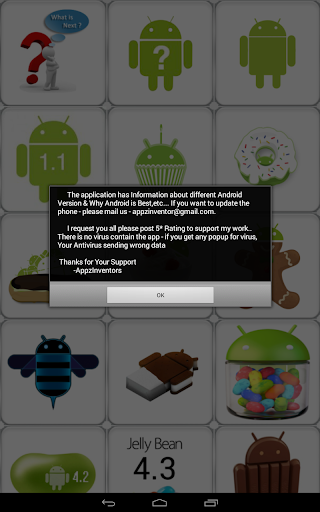 Update for Android (info) - Software up to date 2.0.127.1 screenshots 8