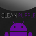 GO SMS Clean Purple Theme icon