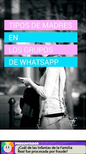 Tipos de madres grupo whatsapp