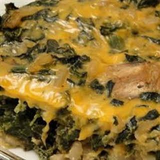 Easy Spinach Casserole.
