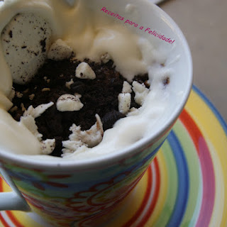 Chocolate Cake in Mug