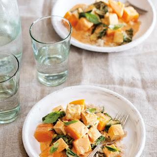 Thai-Style Tofu and Butternut Squash Curry Recipe