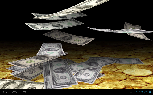 Falling Money Wallpaper Lite