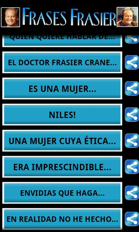 Frases Frasier - screenshot