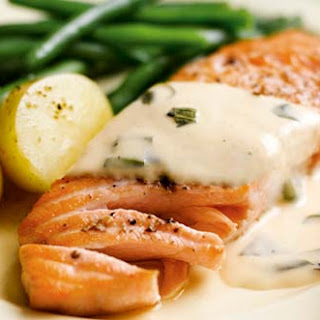 Salmon In Orange Sauce