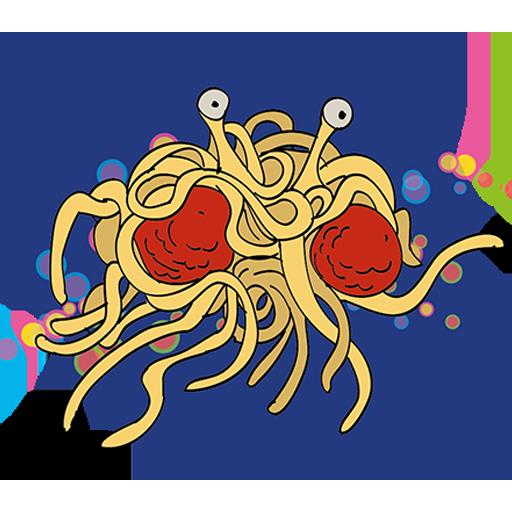 Flying Spaghetti Monster 街機 LOGO-阿達玩APP