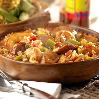 Cajun Chicken Sausage Jambalaya.
