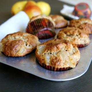 Browned Butter Pear Muffins Recipe