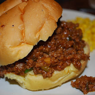 Root Beer Sloppy Joes.