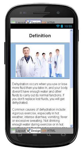 Dehydration Disease Symptoms