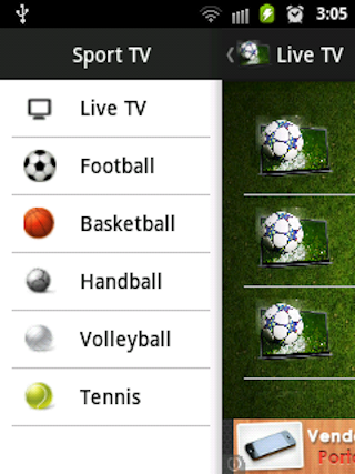 Sport TV - screenshot
