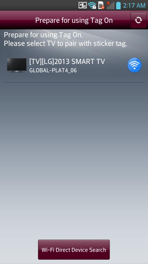 LG TV Tag On - screenshot