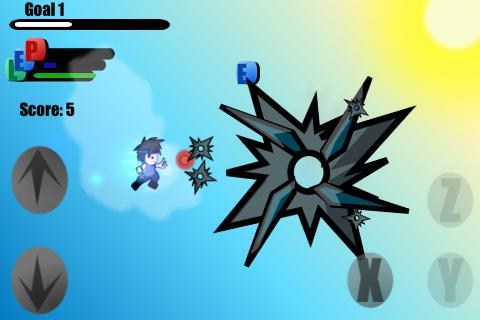 Dragon Sky Rush Ninja B - screenshot