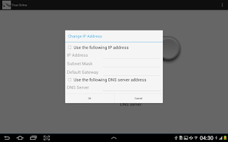 Screenshot of Ethernet Droid