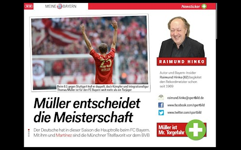 SPORT BILD + - screenshot thumbnail