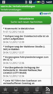 Saarfahrplan- screenshot thumbnail