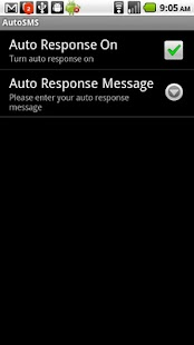 AutoSMS - Auto Reply - screenshot thumbnail