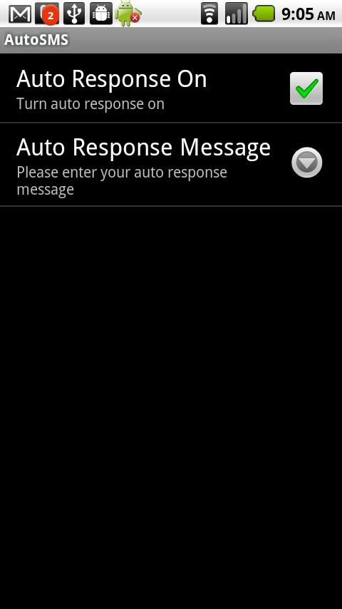 AutoSMS - Auto Reply - screenshot