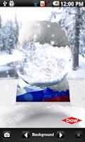 Screenshot of Dow Snowglobe