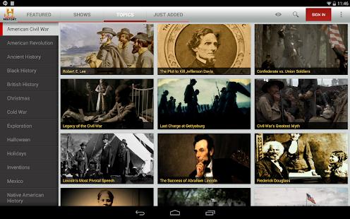 HISTORY Screenshot 22