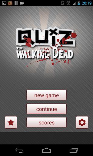Quiz Walking Dead Unofficial