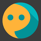 Flat UI Go SMS icon