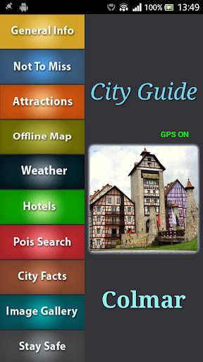 Colmar Offline Map Guide