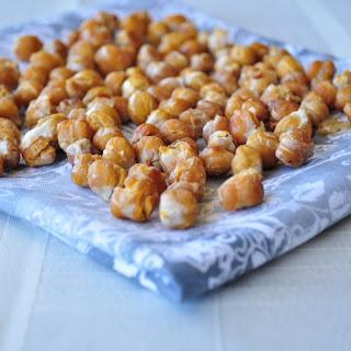 Maple Cinnamon Roasted Chickpeas