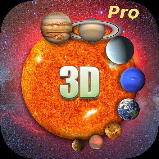 Solar System 3D Pro LOGO-APP點子