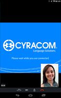 Screenshot of CyraCom Interpreter