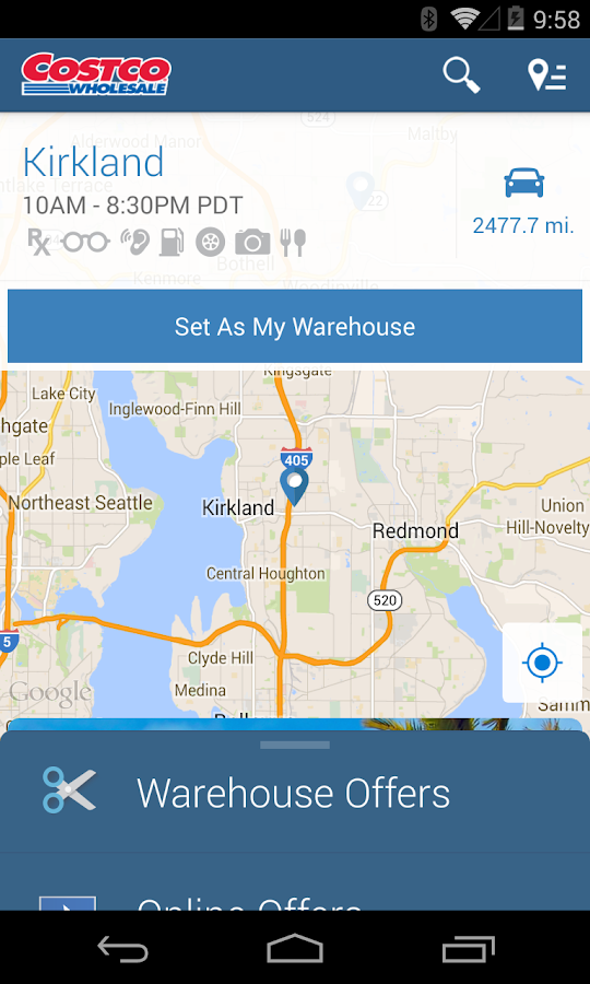 Costco Wholesale - US - screenshot