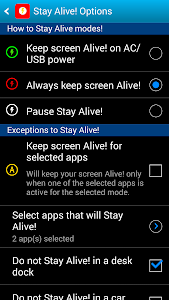 Stay Alive! Keep screen awake v1.7.0.0