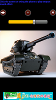Screenshot of Artillery sounds
