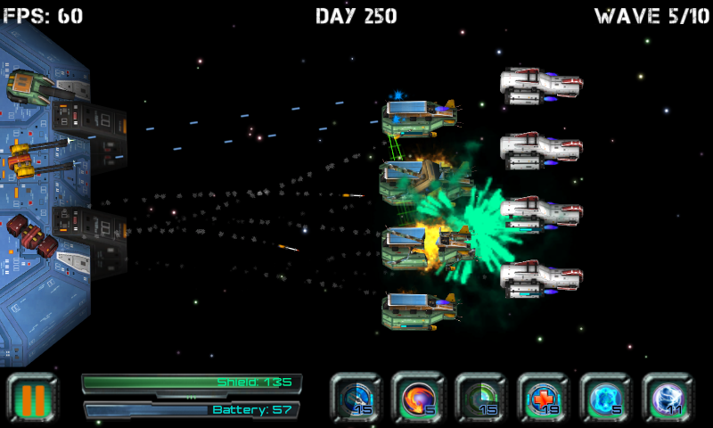 Space Station Defender- screenshot