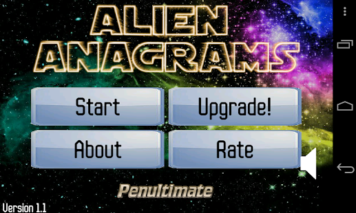 Alien Anagrams- screenshot thumbnail