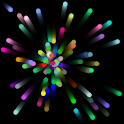 Colored Particles Live Wallpap logo