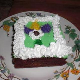 Pinto Bean Cake.