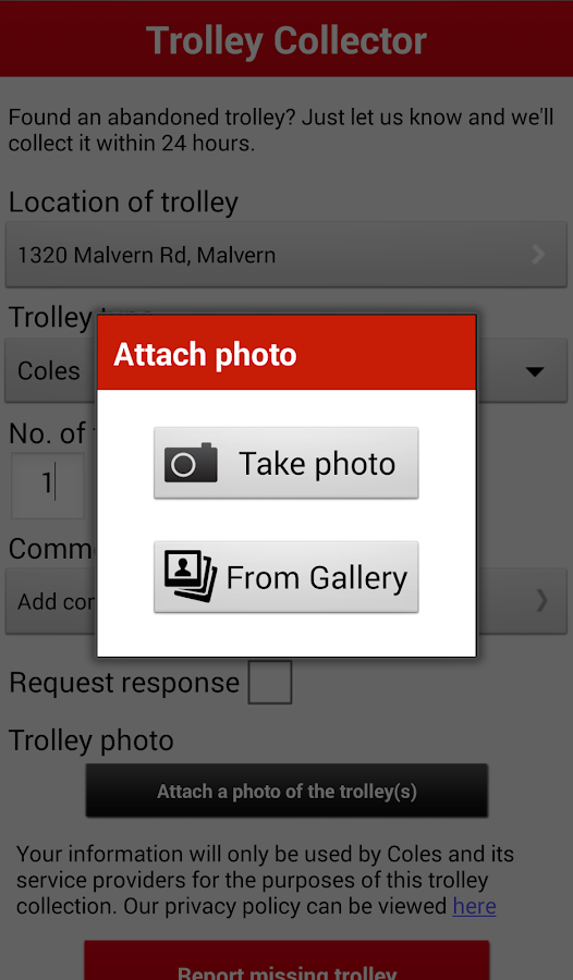 Trolley Collect- screenshot