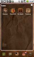 Screenshot of ADW Rustik Theme (Donate)