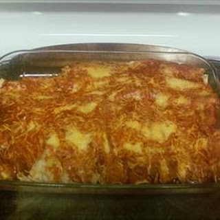 Bean Potato Enchiladas