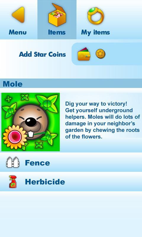 Crazy Gardens- screenshot