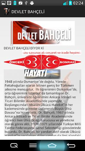 DEVLET BAHÇELİ
