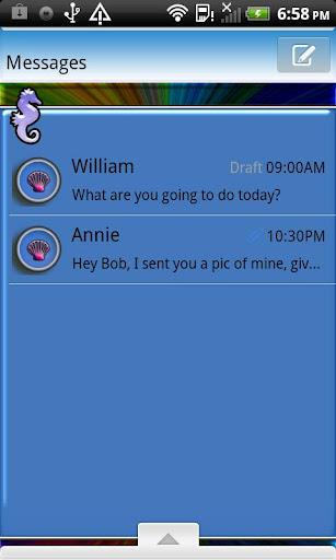 GO SMS THEME OceanWaves1