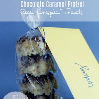 Chocolate Caramel Pretzel Rice Krispie Treats Recipe